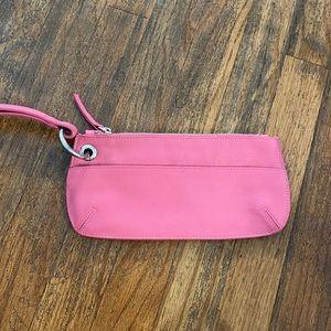 Bubblegum Pink Wristlet